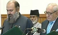 Jam Kamal takes oath as Balochistan Chief Minister