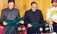 The curious case of expenses on Imran's oath taking