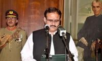 Buzdar — first non-Muslim Leaguer CM since 1985