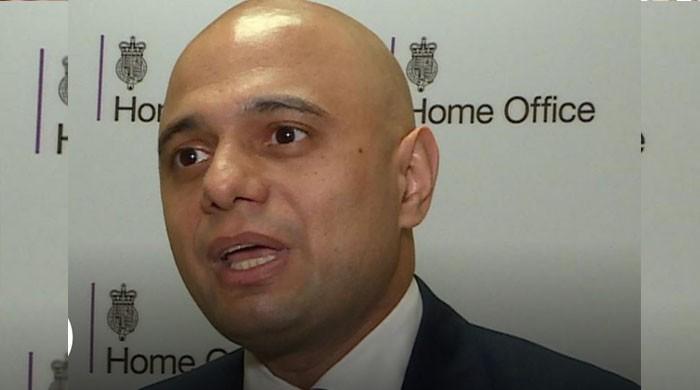 UK action linked to evidence: Sajid