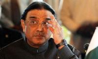 Time not opportune for immediate polls: Zardari