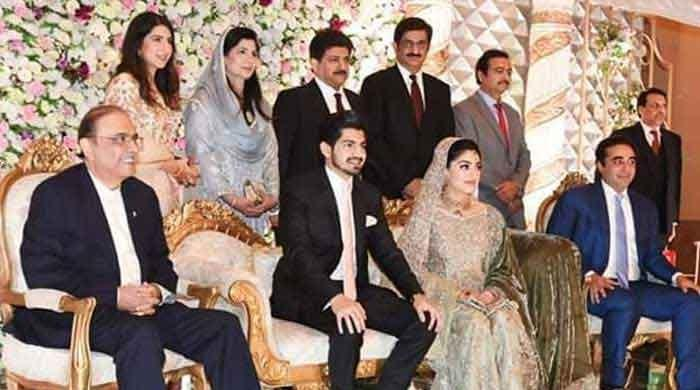 Hamid Mir son's wedding brings various political, social groups