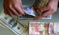 Rupee declines