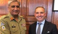 Gen Bajwa meets UK NSA, secretary defence