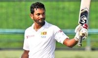 Karunaratne helps Sri Lanka to 85-2 on rain-hit first day