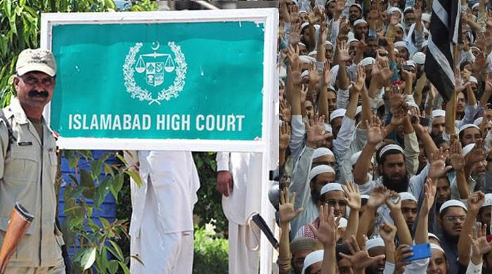 IHC decision on JUI-F march: Rights of protesters, people be respected'