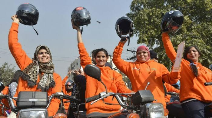 Project aimed at training 10,000 women in Sindh to ride motorcycles starting on Sunday