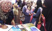 Book lovers throng KIBF on first day
