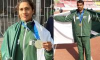Mehboob Ali, Najma Parveen, Talha Talib, Haider Ali win gold; Pakistan trail at fourth spot