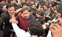 Fayazul Hassan Chohan blames PML-N lawyers for attacking him, PIC