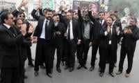 Lawyers' strike today after talks with govt fail