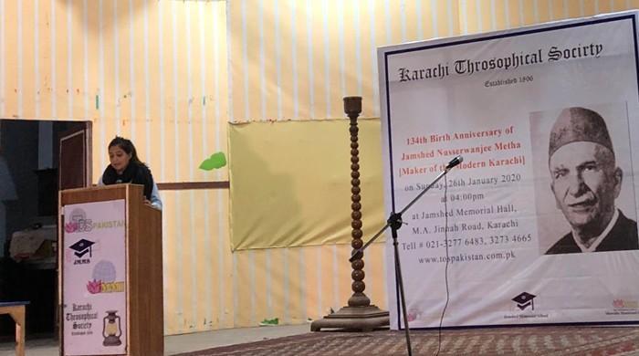 Karachi's first elected mayor Jamshed Nusserwanjee remembered