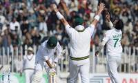 Pakistan crush Bangladesh in Rawalpindi Test