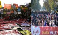Haya march to counter Aurat march in Pakistan: Women march for rights all over the world