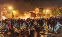 Protests rage in US over black man's death