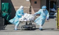 Corona deaths, cases decline