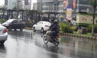 Rain turns weather pleasant in KP