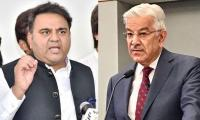 Fawad Chaudhry supports Kh Asif's statement on temple construction