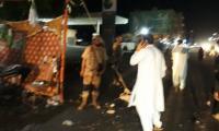 Seven, including woman, injured in Karachi cracker blast