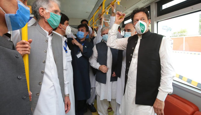 PM inaugurates BRT Peshawar: We turned out to be wrong, says Imran Khan