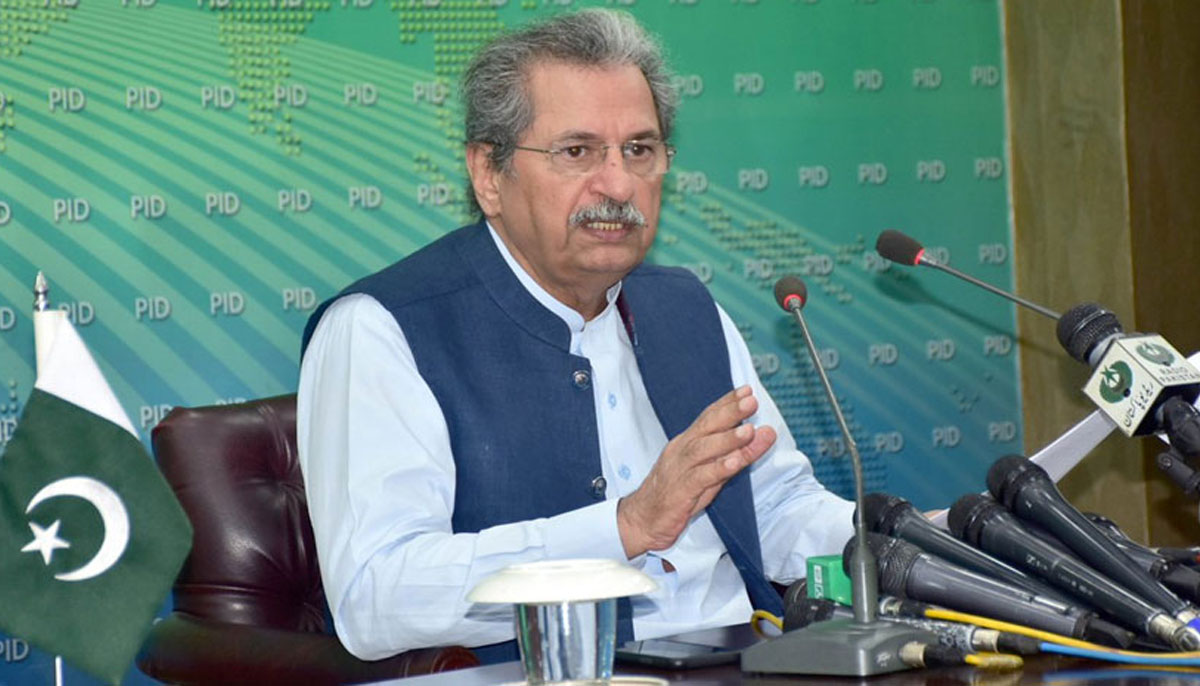 Reopening of educational institutions: Shafqat Mehmood terms Sept 15 a  historic day