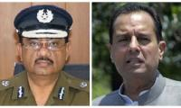 Call between top cop and Safdar ended at a bitter note
