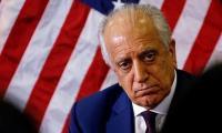 Taliban's claim of accord violations unfounded, says Zalmay Khalilzad