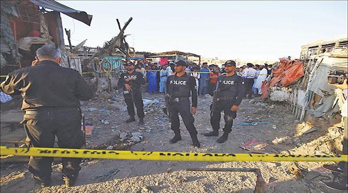 Six injured in Shireen Jinnah Colony bomb blast