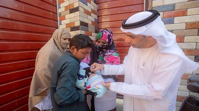 Anti-polio drive: UAE campaign reaches over 16m children in three months
