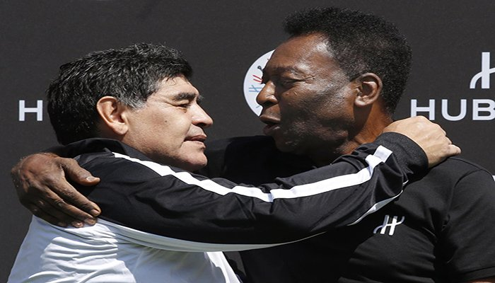 Pele's birthday message for Maradona: I will always applaud you