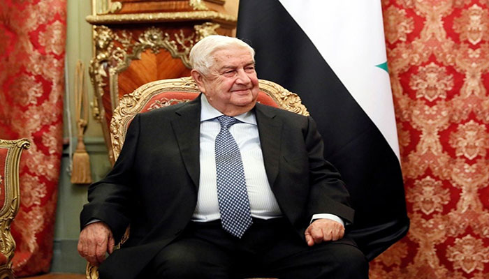 Syria's foreign minister Walid Muallem dies