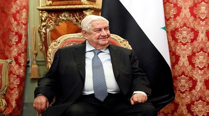 Syrian Foreign Minister Walid Moulim dies
