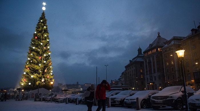 No more traveling than Christmas