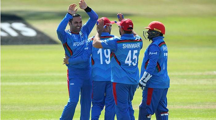 The Afghan team invited Pakistan