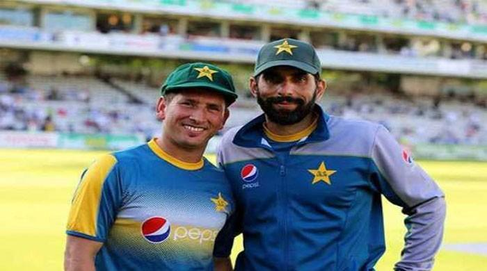 Misbah, Yasir nominated for ICC Award of the Decade