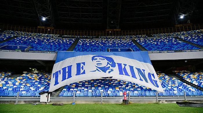 Napoli's stadium will be renamed after Diego Maradona