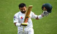 Skipper Rizwan promises 'all guns blazing' in first Test
