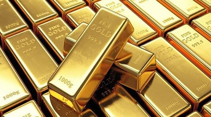 The price of gold falls to Rs. 500 / tola