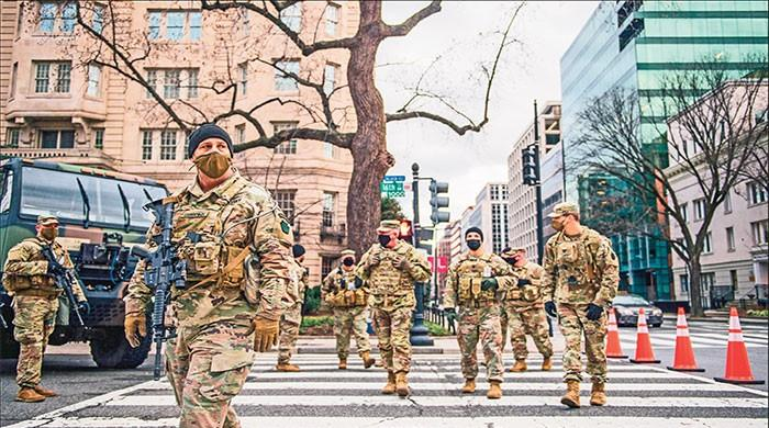 Army called in Washington