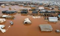 Syria downpour turns displacement camps into 'lakes'