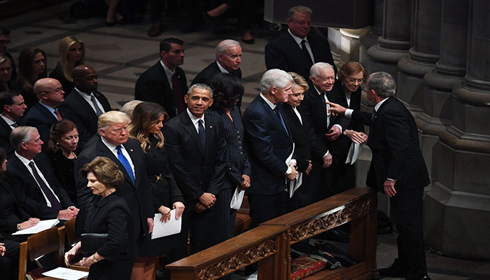 Former Presidents Obama, Bush, Clinton share message of unity for President Biden