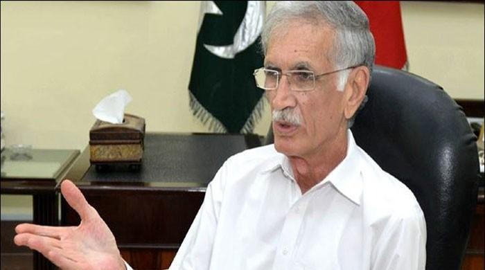 Pervez Khattak says it contradicts the PDM's statement