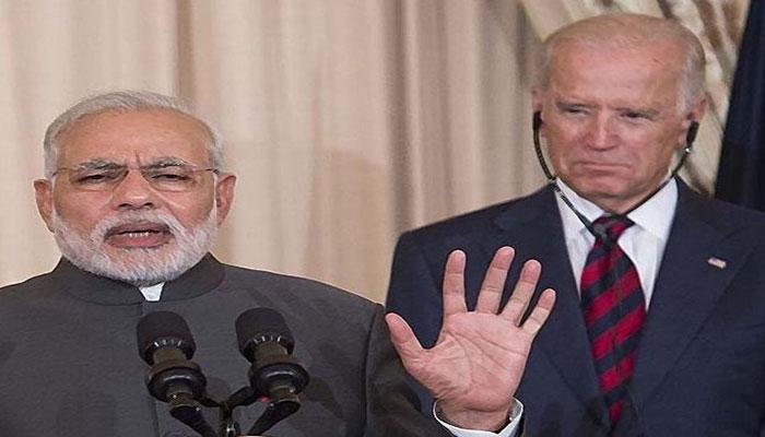Biden calls Modi, seeks to strengthen regional security