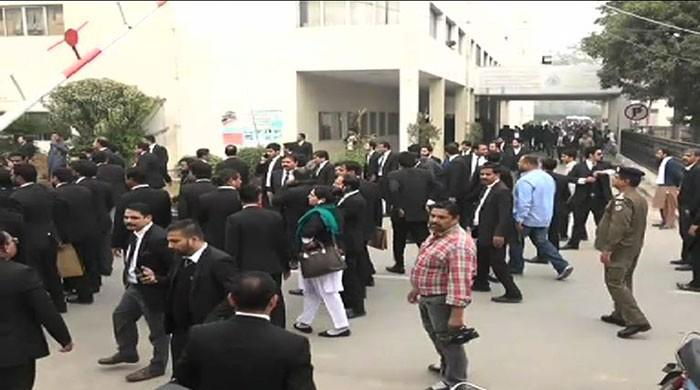 Lawyers absence for strikes is professional dishonesty: LHC