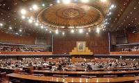 Govt, opposition face-off continues in NA