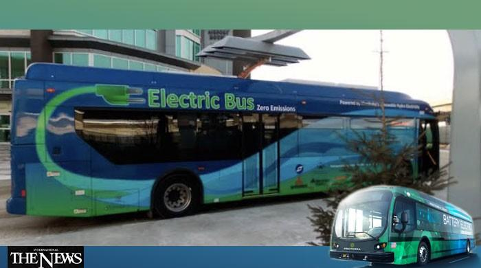Memorandum of Understanding on Introduction of Electric Buses in Pakistan, Other Vehicles Signed