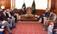 Asad meets Afghan president's envoy