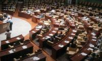 Floor crossing in Sindh: PTI MPAs protest as two renegade legislators occupy treasury benches