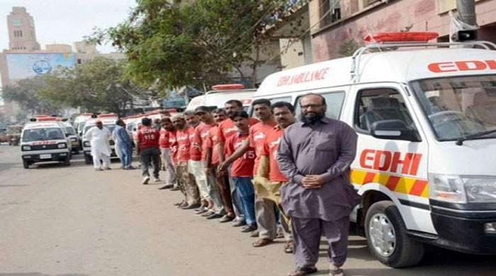 The Edhi Foundation provides free treatment to 7,983 patients in Lahore