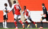 Nketiah's leveller saves Arsenal as Fulham suffer survival blow